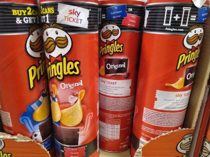Pringles Sky Ticket Supersport Cinema