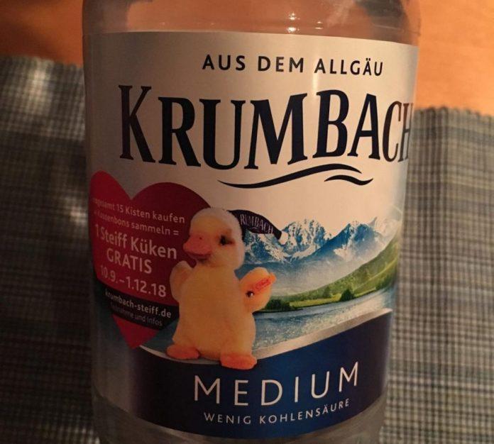 Krumbach Mineralwasser - Steiff Küken