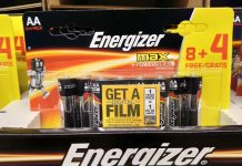 Energizer Batterie - Movie