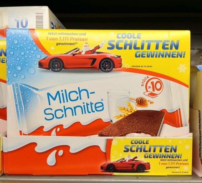 Ferrero Coole Schlitten