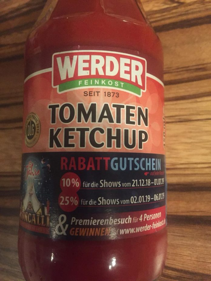 Werder Feinkost Tomaten Ketchup