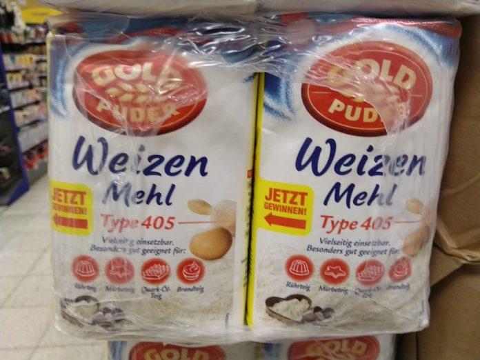 Goldpuder Mehl