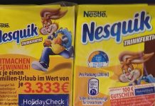 Nestlé Nesquik trinkfertig Frischli