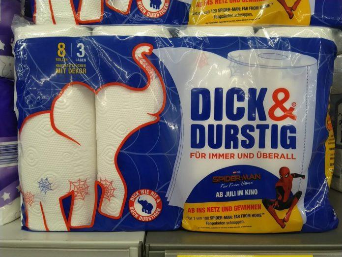 Dick & Durstig - Spiderman