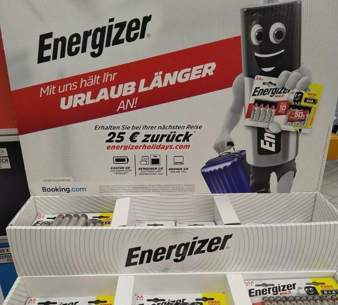 Energizer Holidays