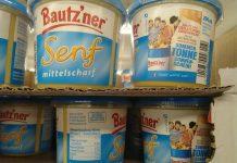 Bautzner Senf Grilltonne