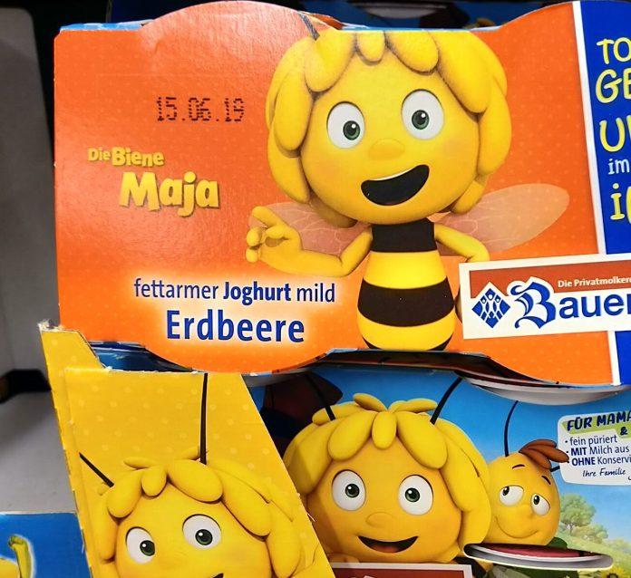 Bauer Kinder Joghurt Biene Maja