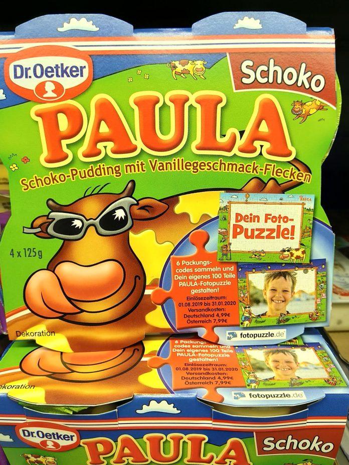 Dr. Oetker Paula Fotopuzzle