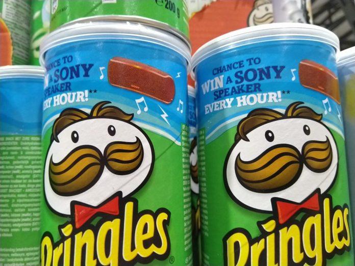Pringles Sony Lautsprecher Speaker