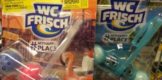 WC frisch Partypuper #myhappyplace