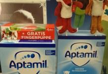 Aptamil Kindermilch - Sigikid Fingerpuppen