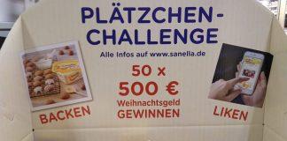 Sanella Plätzchen Challenge