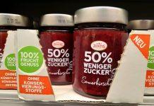 Zentis Fruchtaufstrich 50% weniger Zucker