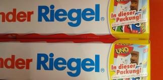 Ferrero Kinder Riegel Milky und Schoki Valentinstagsreise