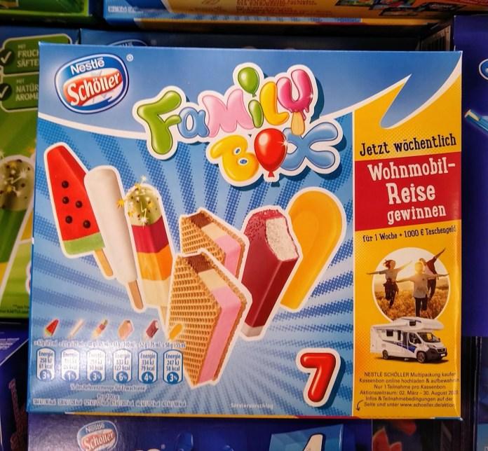 Nestlé Schöller Eis Wohnmobil-Reise