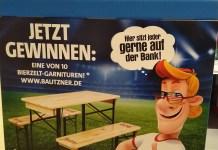 Bautzner Bierzeltgarnitur