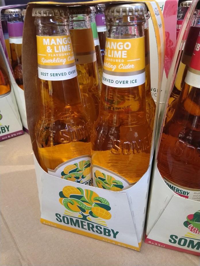 Somersby Mango & Lime gratis testen