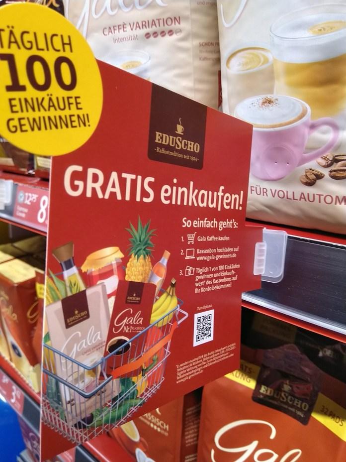 Gala von Eduscho Gratis einkaufen