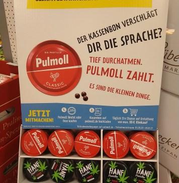 Pulmoll erstattet Einkauf - täglich 33x Kassenbon-Erstattung bis 55 Euro gewinnen