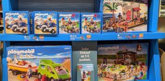 Rewe: Playmobil Treuepunkte Aktion