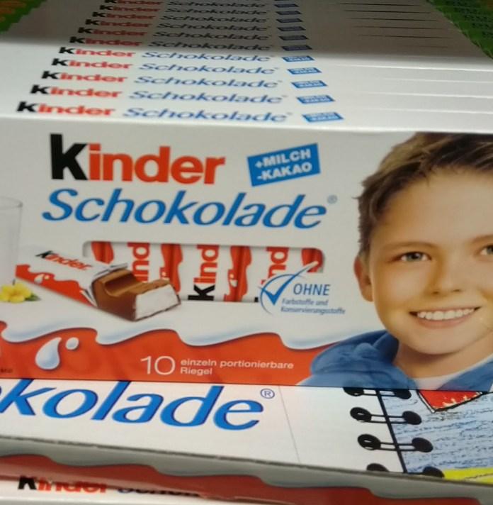 Ferrero Kinder Schokolade - Probierpaket gewinnen