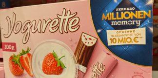 Yogurette Ferrero Millionen Memory 2020: Einkaufsgutscheine für Edeka, Marktkauf gewinnen