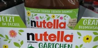 Nutella Gärtchen Aktion 2021: Blumen samen gratis - Löwenmäulchen oder Calliopsis geschenkt