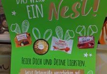 Ferrero Ostern: Gewinnspiel - Ostergrüße versenden, Produktpaket gewinnen