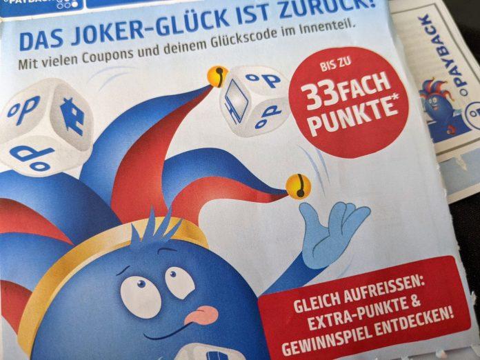 Payback Joker Glück 2021 - Coupon-Heft holen, Code eingeben, Preise gewinnen