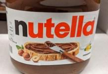 Nutella Rezeptbuch gratis mit Name und Lieblingsrezepten - Aktionscode eingeben