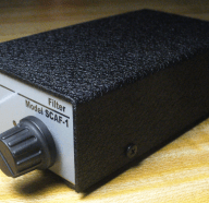 New SCAF-1 Noise/Bandwidth Filter