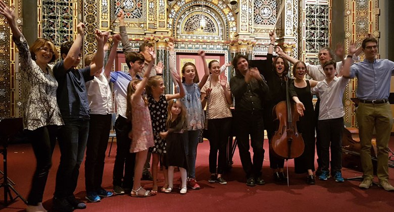 Very Young Composers - New York Philharmonic - Or Yehuda Conservatory