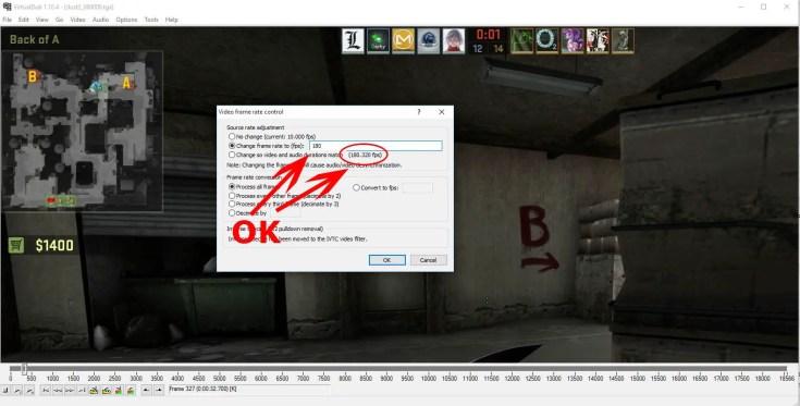 virtualdub-frame-rate