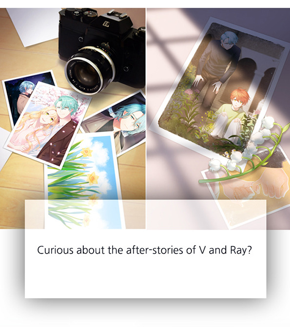 Mystic Messenger: V and Ray's after stories will be released for sure