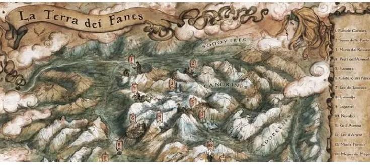 Il Regno dei Fanes: Una leggenda delle Dolomiti