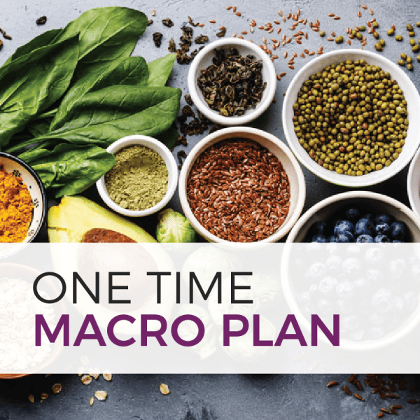 one time macro plan product