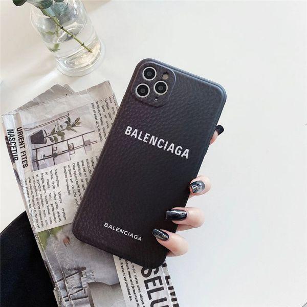 バレンシアガ iphone12/12pro ケース 海外 セレブ メンズ iphone12mini/11pro max ケース ペア シンプル balenciaga スマホケース iphonexs max 黒 女 iphonexs/7/8 携帯ケース 安い