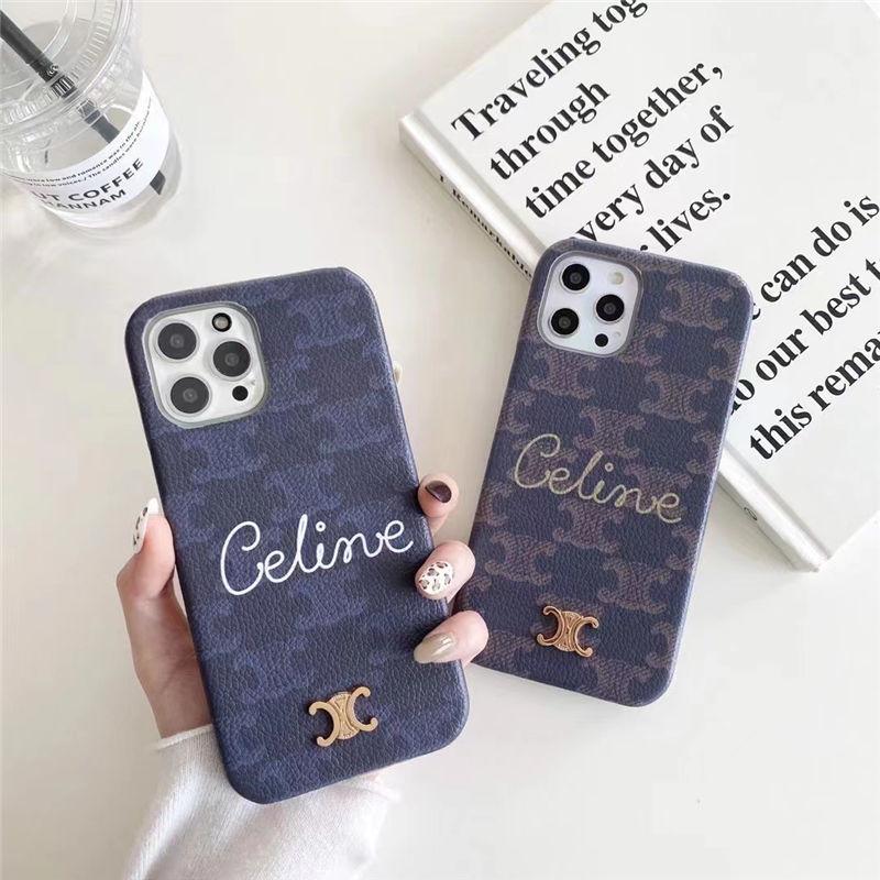 セリーヌ コピー iphone12 ケース メンズ ハード CELINE iphone12pro/12miniケース ビジネス iphone11pro max 携帯ケース 大人 シンプル iphonexs/xr/7/8 スマホケース ブランド コピー 激安
