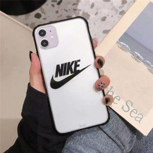 iphone12 ケース ナイキ 半透明 iphone12pro max/12mini クリアケース ペア アイフォン11pro max/11 スマホカバー nike iphonexs/10r 携帯ケースシンプル 軽い