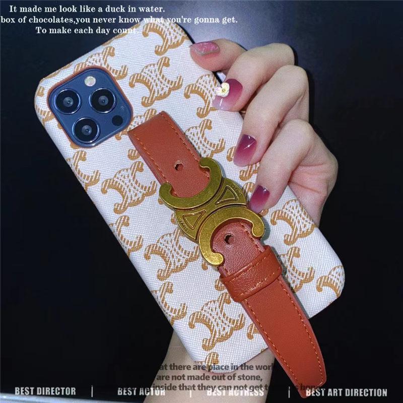 セリーヌ iphone12ケース バンド付き celine アイフォン12pro max/11proケース 大人 女子 iphonexs 10r 携帯ケース 流行り モバイルケース iphone11/xs max おしゃれ 海外