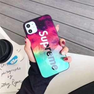 supreme スマホ ガラスケース iphone13pro max 人気 高校生 アイフォン12/12プロケース シュプリーム iphone11/xs max 携帯カバー かっこいい アイホンカバーxs/se2