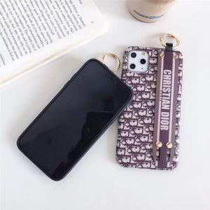 dior スマホケース ベルト 付き iphone13pro/12miniケース お揃い ディオール風 iphone12/11pro max tpuカバー 海外 セレブ 愛用 iphonex/10s ケース 上品 安い