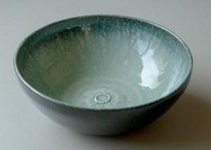 花個紋 信楽焼菓子鉢