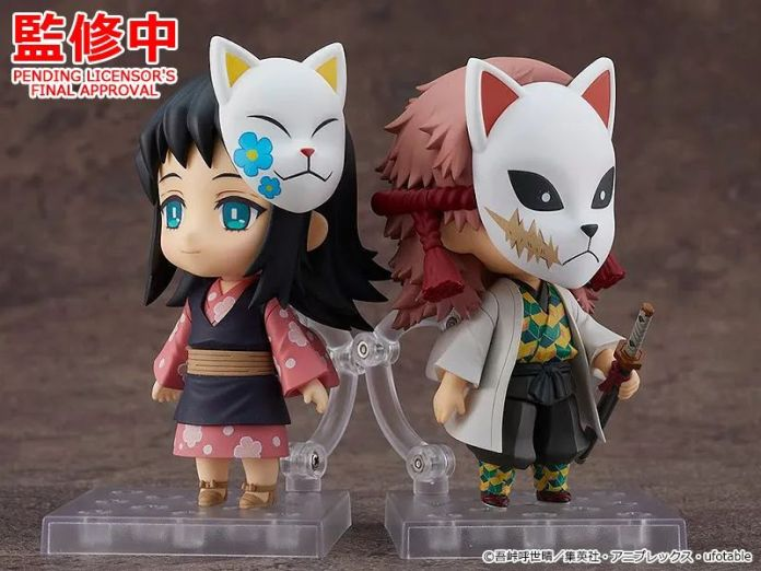 Makomo y Sabito - Figuras Wonder Festival 2021 [Winter] y WonHobby32 - Hanami Dango