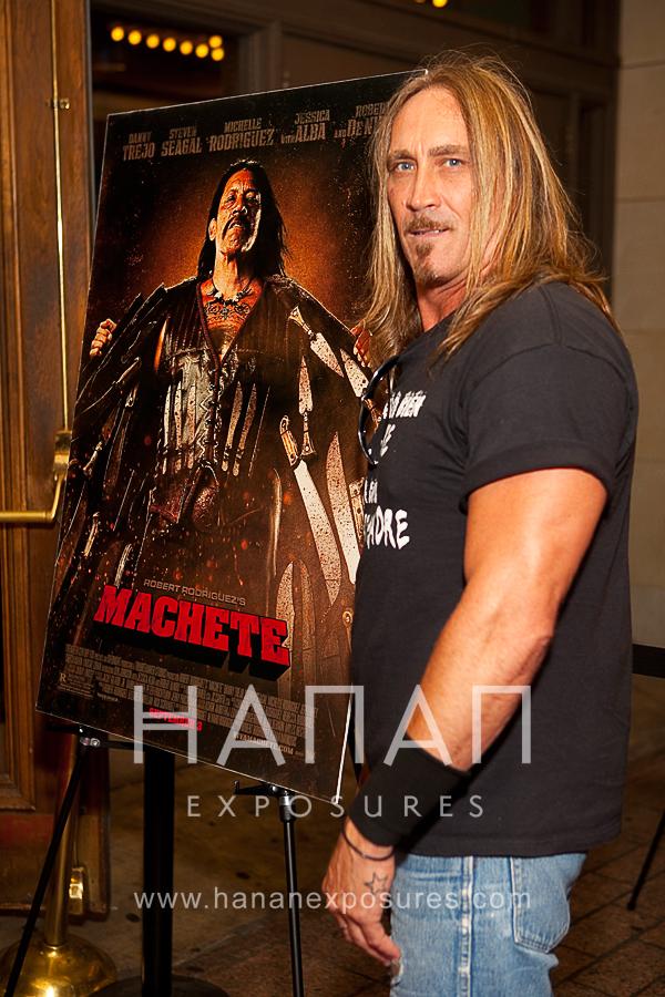 Greg Ingram Machete Austin Red Carpet premiere