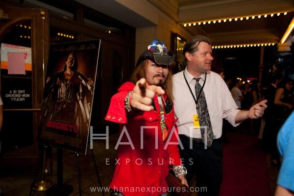 Billy Blair Machete Austin Red Carpet premiere