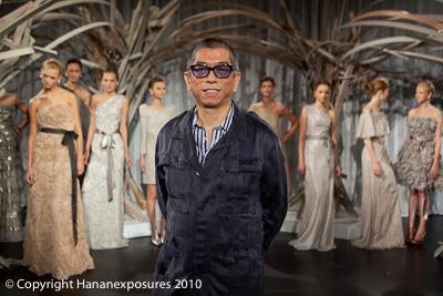 Mercedes-Benz New York Fashion Week 2010 Tadashi Shoji