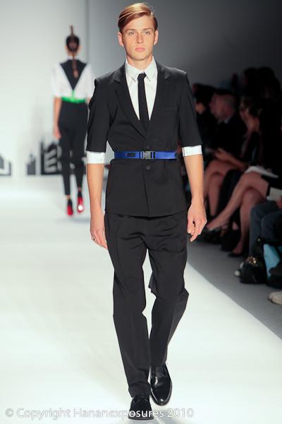 Mercedes Benz New York Fashion Week 2010 David Delfin S/S 2011