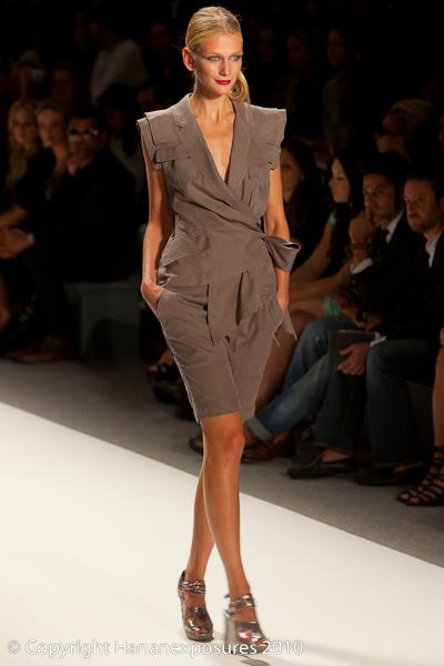 Mercedes-Benz Fashion Week New York 2010 Nanette Lepore