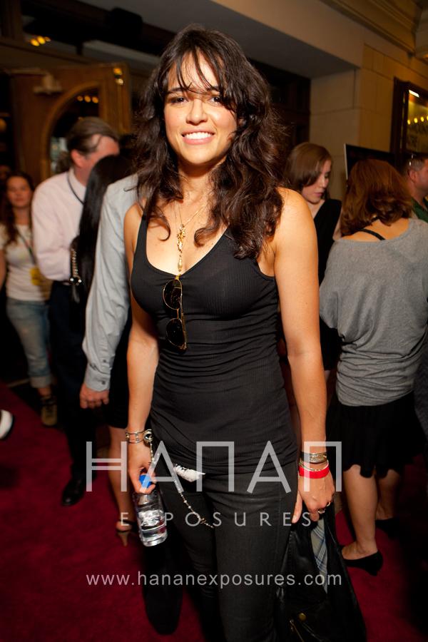 Michele Rodriguez Machete Austin Red Carpet premiere